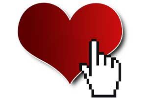 Herz mit Mauszeiger