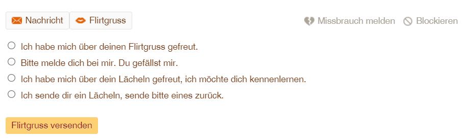 Swissflirt Flirtgrüsse