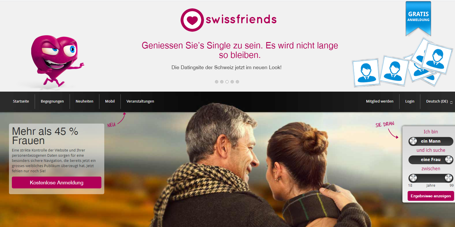 Casual dating kostenlos schweiz